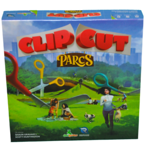 Boite du jeu Clip Cut Parcs