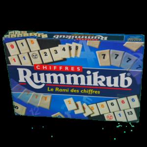 Boîte du jeu Rummikub