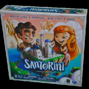 Boite du jeu Santorini