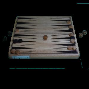 Matériel du Jeu Backgammon