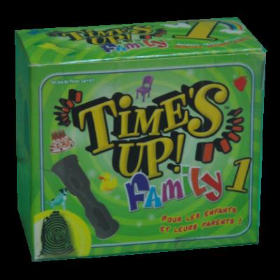 Boite du jeu Times up family