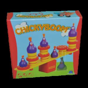 Boîte du jeu Chicky boom