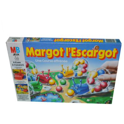 Boîte du jeu Margot L'escargot