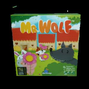 Boite du jeu Mister Wolf