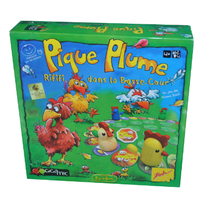 Boîte du jeu Pique Plume
