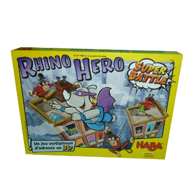 Boite du jeu Rhino Hero Super Battle