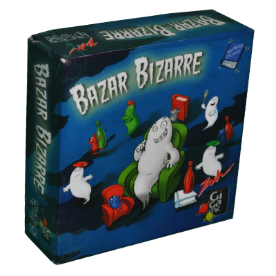 Boite du jeu Bazar bizarre