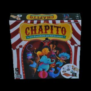 Boite du jeu Chapito