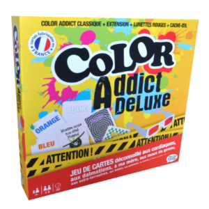 Boite du jeu Color Addict de Luxe