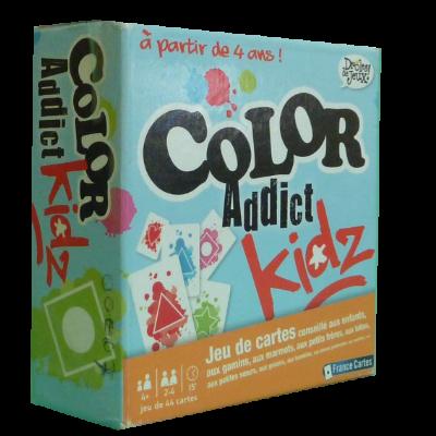 Boîte du jeu Color Addict Kidz