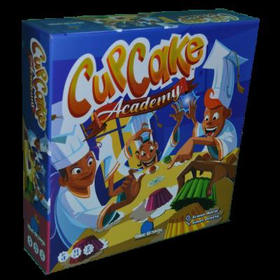 Boite du jeu Cup cake