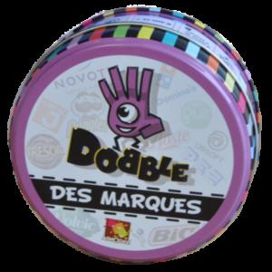 Boite du jeu Dobble des marques