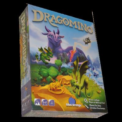 Boite du jeu Dragomino