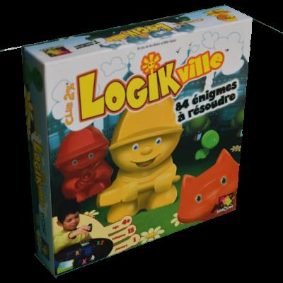 Boîte du jeu Logikville