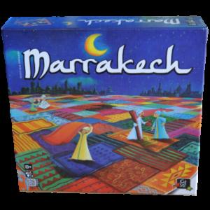 Boite du jeu Marrakech