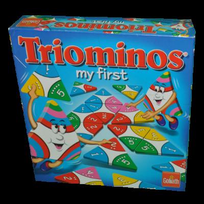Boite du jeu Triomino my first