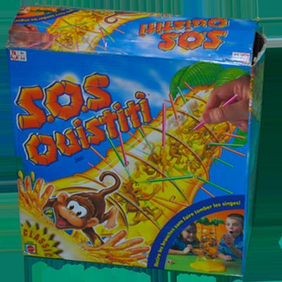 Boite du jeu SOS Ouistiti