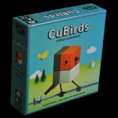 Boite du jeu CuBirds