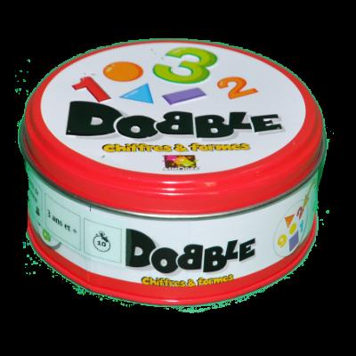 Boite du jeu Dobble formes