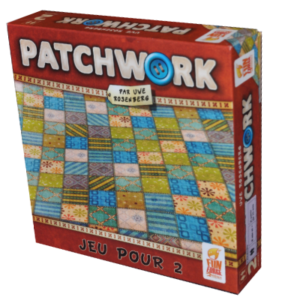Boite du jeu Patchwork