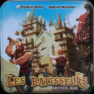 Boîte du jeu Les Bâtisseurs Moyen-âge