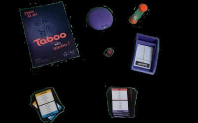 Matériel du jeu Taboo
