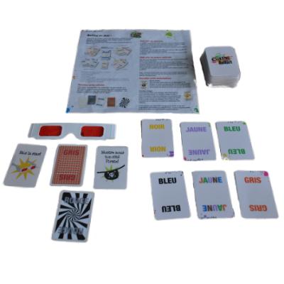 Matériel du jeu Color Addict de Luxe