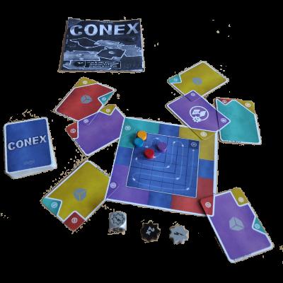 Matériel du jeu Conex