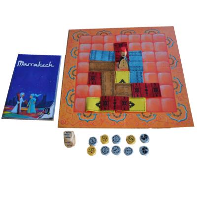 Matériel du jeu Marrakech