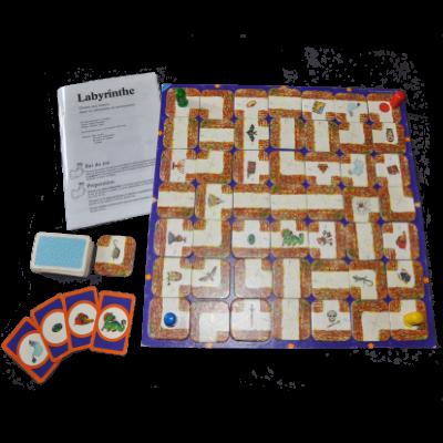 Matériel du jeu Labyrinthe