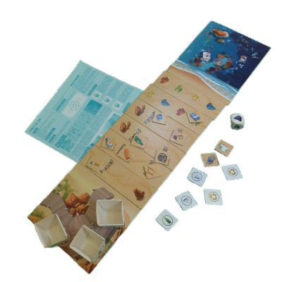 Matériel du jeu Playa Playa