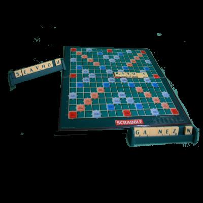 Matériel du jeu Scrabble