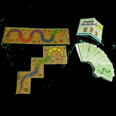 Matériel du jeu Serpents arc-en-ciel