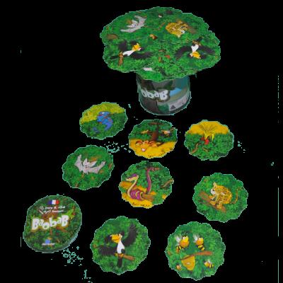 Matériel du jeu Baobab