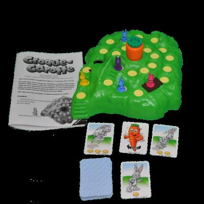 Matériel du jeu Croque-Carotte