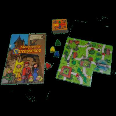 Matériel du jeu Mon Premier Carcassonne