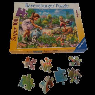 Image de puzzle Martine au jardin