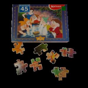 Image de puzzle Blanche-Neige
