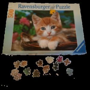 Image de puzzle Châton