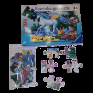 Image de puzzle Licorne