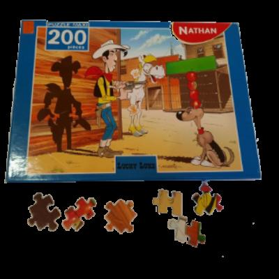 Image de puzzle Lucky Luke