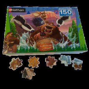 Image de puzzle Les rebelles de la forêt