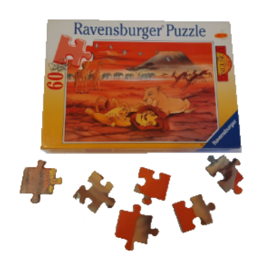 Image de puzzle Le Roi Lion