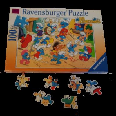 Image de puzzle les Schtroumpfs