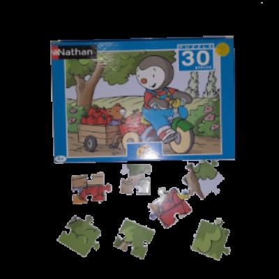 Image de puzzle Tchoupi et Doudou
