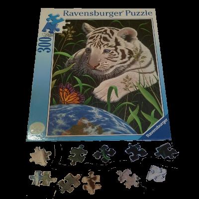 Image de puzzle Tigre blanc