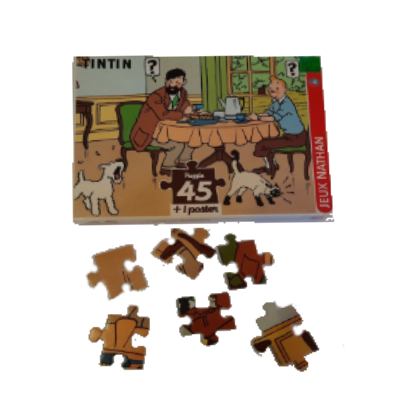 Image de puzzle Tintin