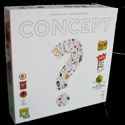 Boite du jeu Concept