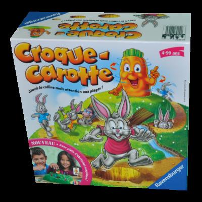 Boite du jeu Croque carotte