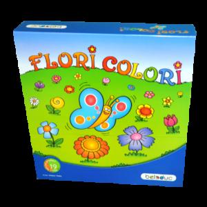 Boite du jeu Flori colori